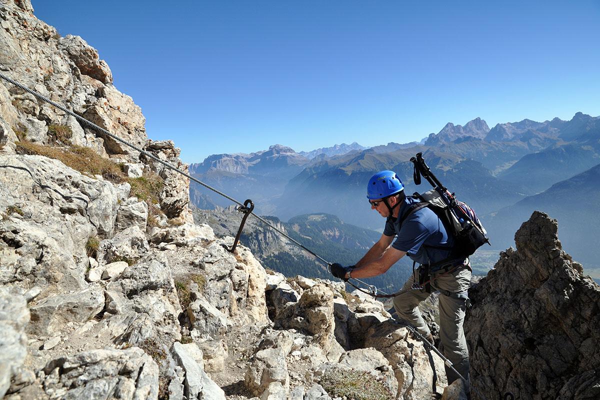 Maximilian Klettersteig : Klettersteige berghotel piné u hotel für ihren urlaub in den
